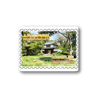 FUCHSGOLDの日本の城:土浦城★白地の製品だけご利用ください!! Japanese castle: Tsuchiura castle★Recommend for white base products only !! Stickers