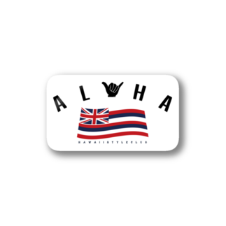HSC ハワイスタイルクラブのAloha Flag Stickers