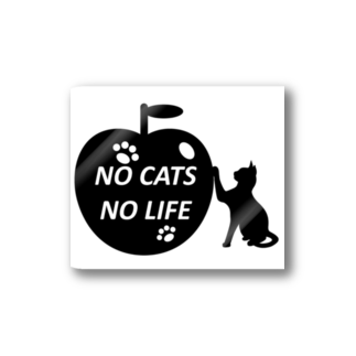 乃舞のNO CATS NO LIFE Stickers