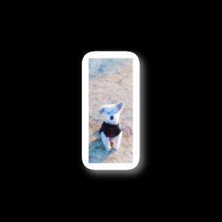ヨボみの芝生のおじい犬(水彩調) Stickers