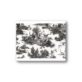 J. Jeffery Print Galleryのトワルドジュイ Toile de Jouy Stickers