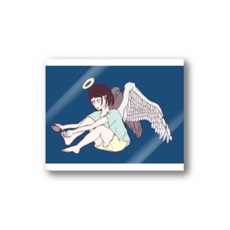 櫛谷久紗/KusyaKUSHIYAの爪切り天使 Stickers