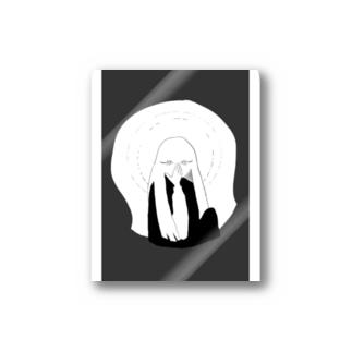 monacoocの女の子 Stickers