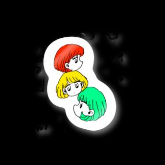 colzaのシグナルちゃん Stickers