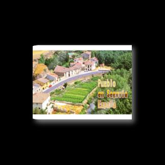 FUCHSGOLDのスペイン:セゴビア郊外の村 Spain: Village in Segovia Stickers