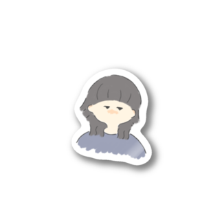 suzuのウルフ女子 Stickers