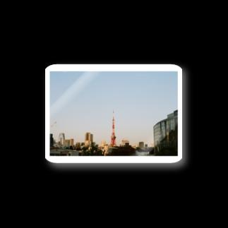 Shogo Hirokiの東京タワー Stickers