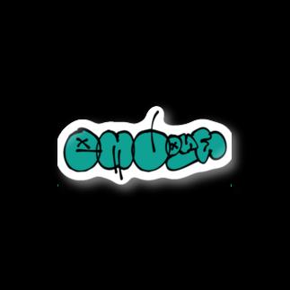 Mi_03747のsmall LOGO Stickers