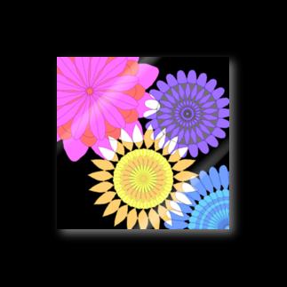 飛べる黒猫のFlower flower Stickers