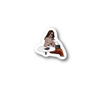 カフェる Stickers