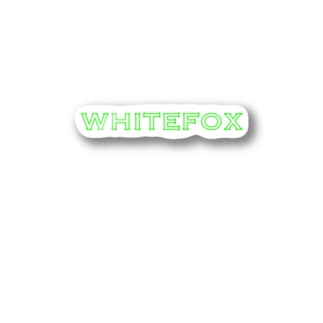WhiteFox 1st  Stickers
