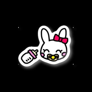 ☆べあごのおへや☆のきゅるるんちゃん Stickers