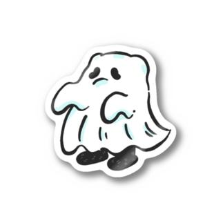 タオルのおばけ Stickers