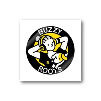 BUZZYROOTS ロゴステッカー Stickers