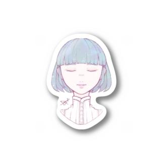 ステッカーtype:Alpha Stickers