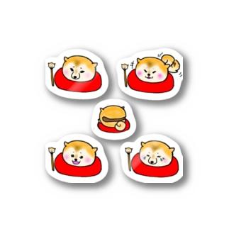木魚柴 Stickers