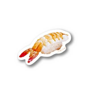 えびシール Stickers