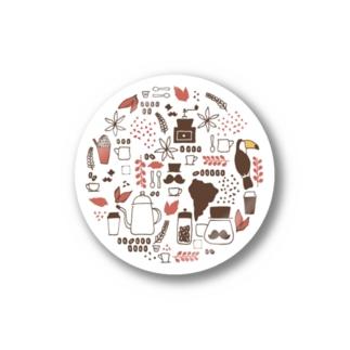 珈琲紳士 Stickers