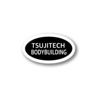 TSUJITECH BODYBUILDING Stickers
