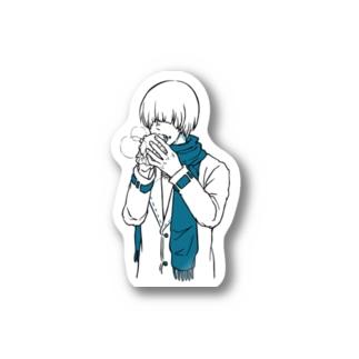【ジンくん】冬の兆し Stickers