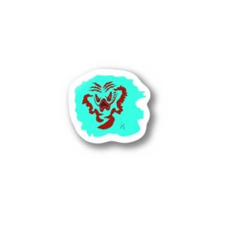 怒り Stickers