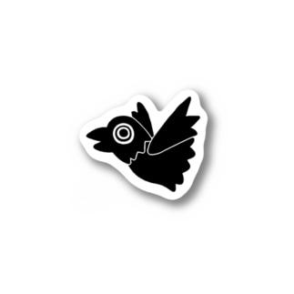 ぼっちカラス Stickers