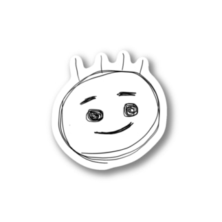 Y_K君ステッカー Stickers
