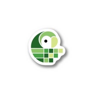 Crouching - SHIBAFU Stickers