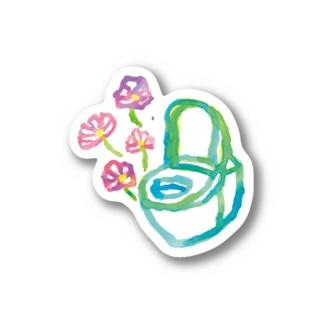 コスモストイレ【はつか】 Stickers