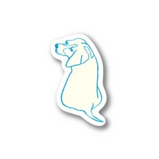 inu_beagle Stickers
