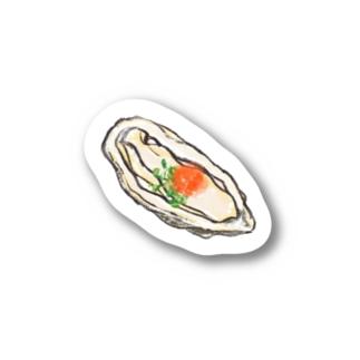生牡蠣 Stickers