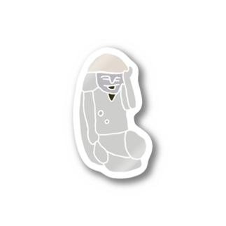 日木山の田の神 Stickers