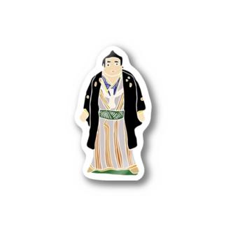 帖佐人形 力士 Stickers
