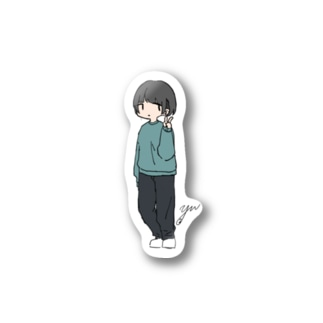 ペタッとゆうちゃん Stickers
