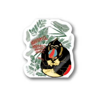 【MANDRILL】 Stickers