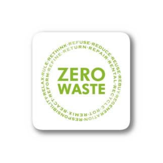 ZERO WASTE (グリーン) Stickers