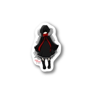 【オリジナルキャラクター】ムニン Stickers