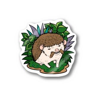 虫食いハリネズミ ノーマル Stickers