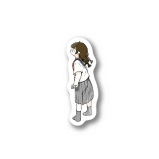 みつあみセーラー Stickers