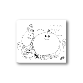 conbanwa_のハハハ Stickers