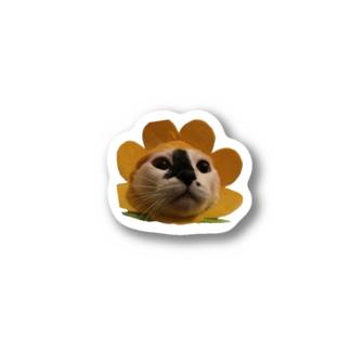 うしがらねこオハナver Stickers