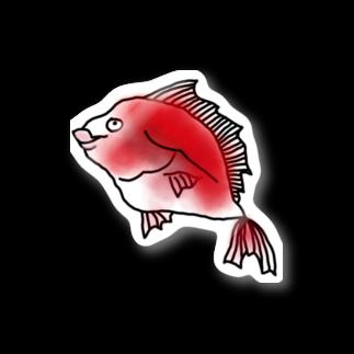 seasidemoonのめで鯛 Stickers