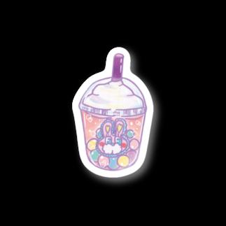 かなえるちゃんのパステルタピオカ Stickers