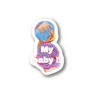 マイベビー Stickers