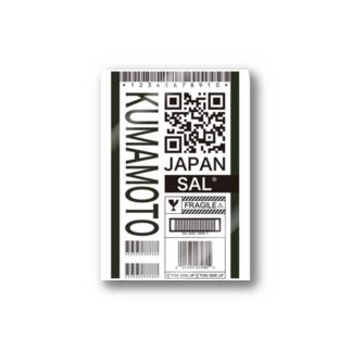 KUMAMOTO Stickers