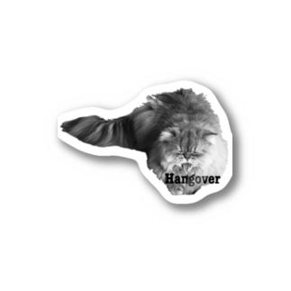 Hangover Leo Stickers