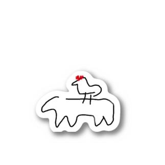ブレーメンの音楽隊 Stickers
