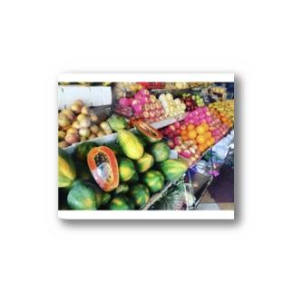 「名のわからぬ果物いかがですか」 Stickers