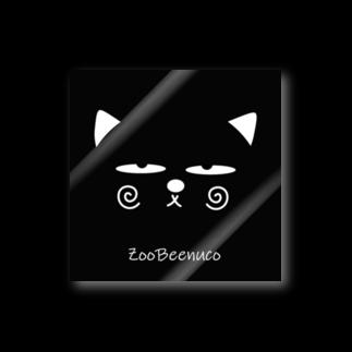 ZooBeeFooのZooBeenucoフェイス Stickers