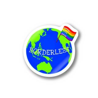 BORDERLESS Stickers